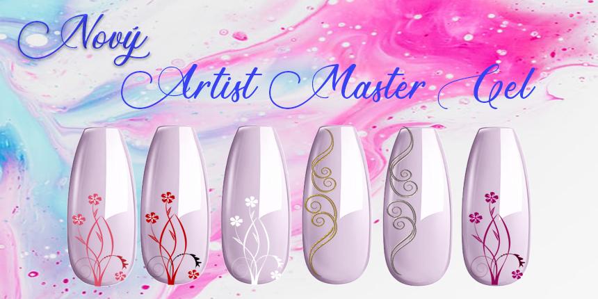 Artist gel - zdobení nehtů