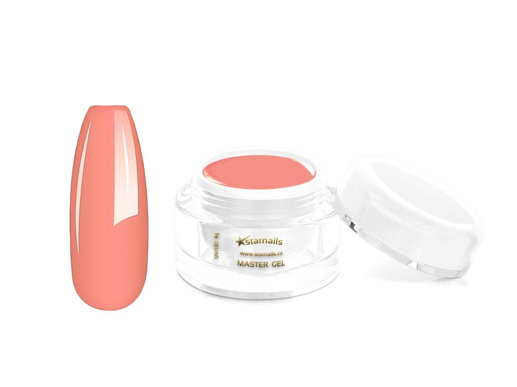 Nude růžový Master UV gel 6g - gel na nehty