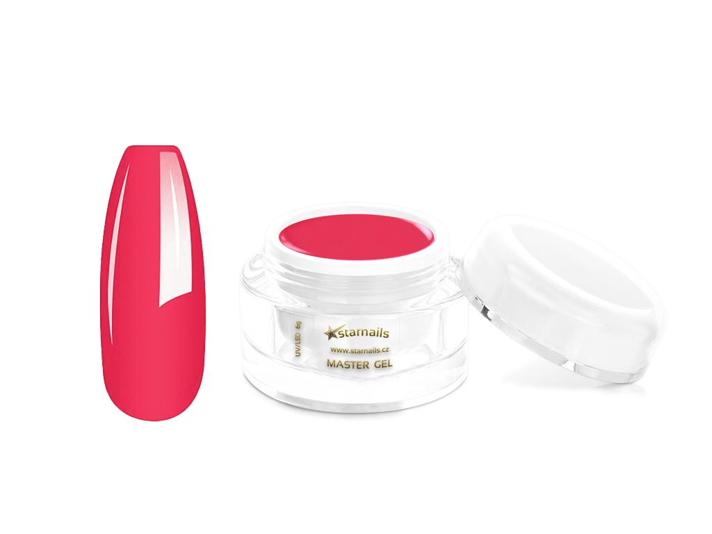 Ohnivě růžový Master UV gel 6g - gel na nehty