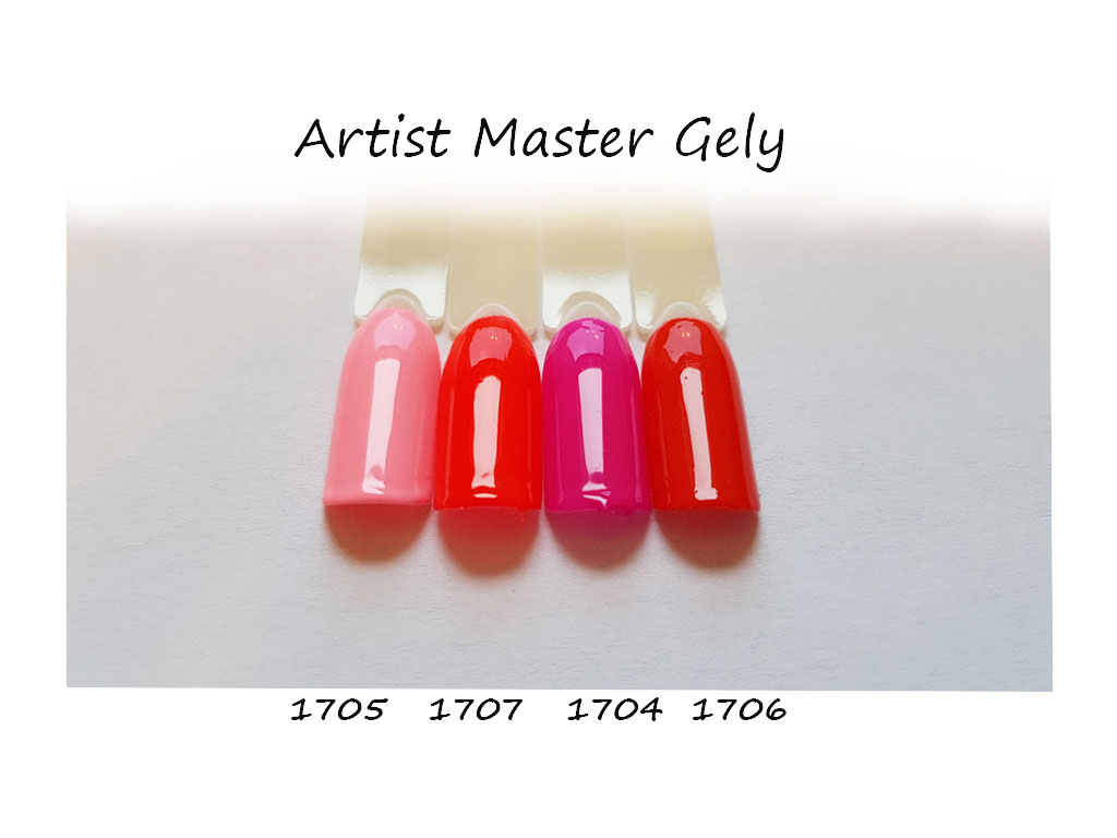 Glitrový Master gel 6g - světle růžový glitter gel