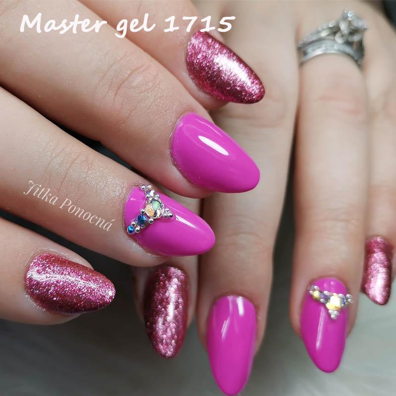 Artist Master gel 6g - světle růžový zdobící gel