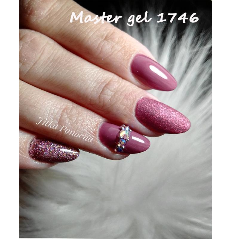 Neonový růžový Master UV gel 6g - gel na nehty
