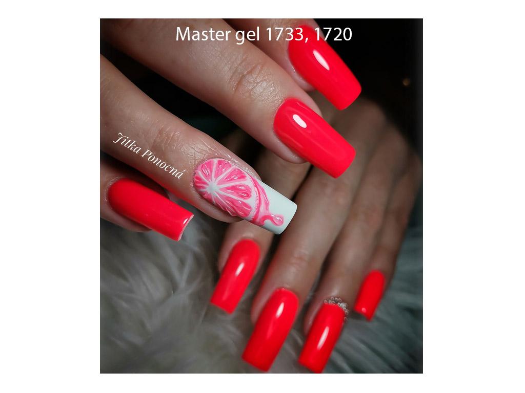 Tmavě růžový Master UV/LED gel 6g - gel na nehty 1748