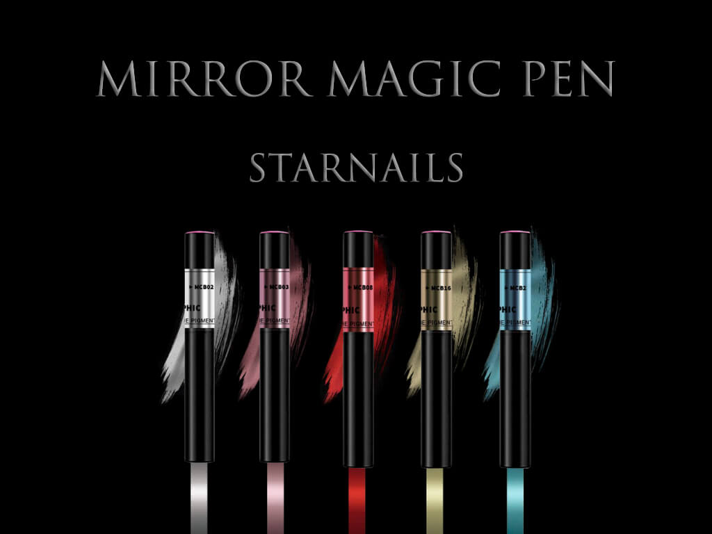 Mirror Magic Pigment Pen Black 10