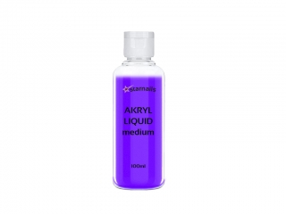 Akryl Liquid medium 100ml - akrylové tvrdidlo, monomer