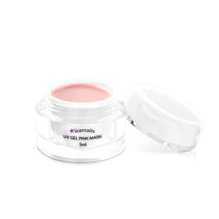 Uv gel Pink Mask 5ml - mléčně růžový, Babyboomer gel