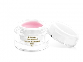 UV gel One Phase Rose 50ml - jednofázový gel