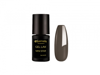 Gel lak Mini Star 99, 5ml - kouřově šedý