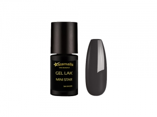Gel lak Mini Star 100, 5ml - šedý