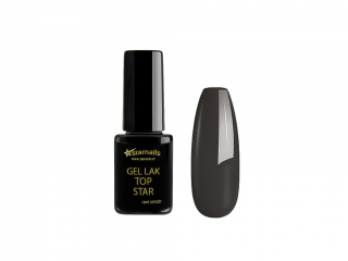 Gel lak Top Star TS341, 10ml - šedý gellak