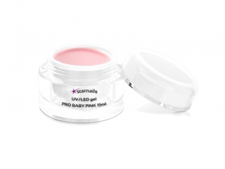 UV/LED gel Pro Baby Pink 15ml - hustý Baby boomer gel