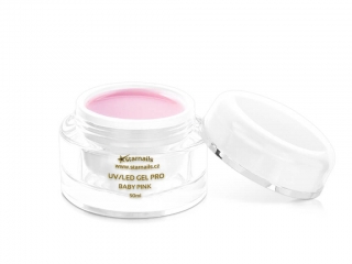 UV/LED gel Pro Baby Pink 50ml - hustý Babyboomer gel