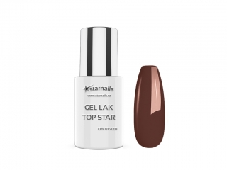 Gel lak Top Star TS401, 10ml - nugátový gellak