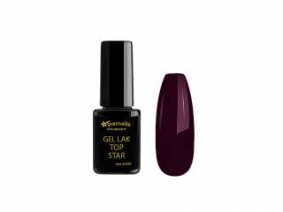 Gel lak Top Star TS399, 10ml - fialový scarlet gellak