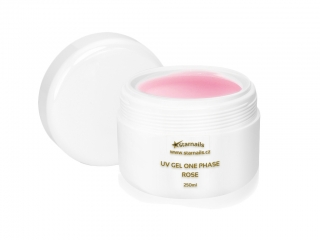 UV gel One Phase Rose 250ml - jednofázový gel