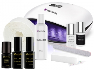 Gel lak sada Top Star 12 - Startovací Set Premium