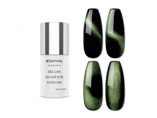 Gel lak 5D Cat Eye Elite Line 654, 6g - chameleon efekt