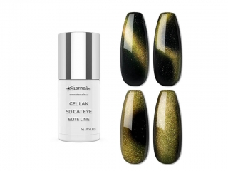 Gel lak 5D Cat Eye Elite Line 656, 6g - chameleon efekt