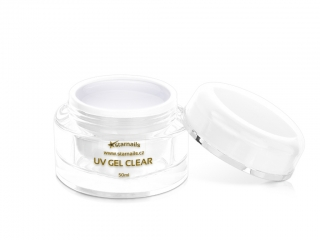 UV gel Clear 50ml - čirý modelovací gel